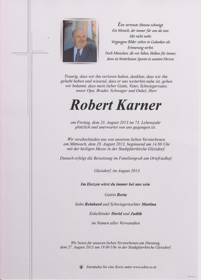 Robert Karner Parte